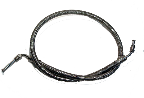 - Outside s.s. hose for Prestolite trim pump 19